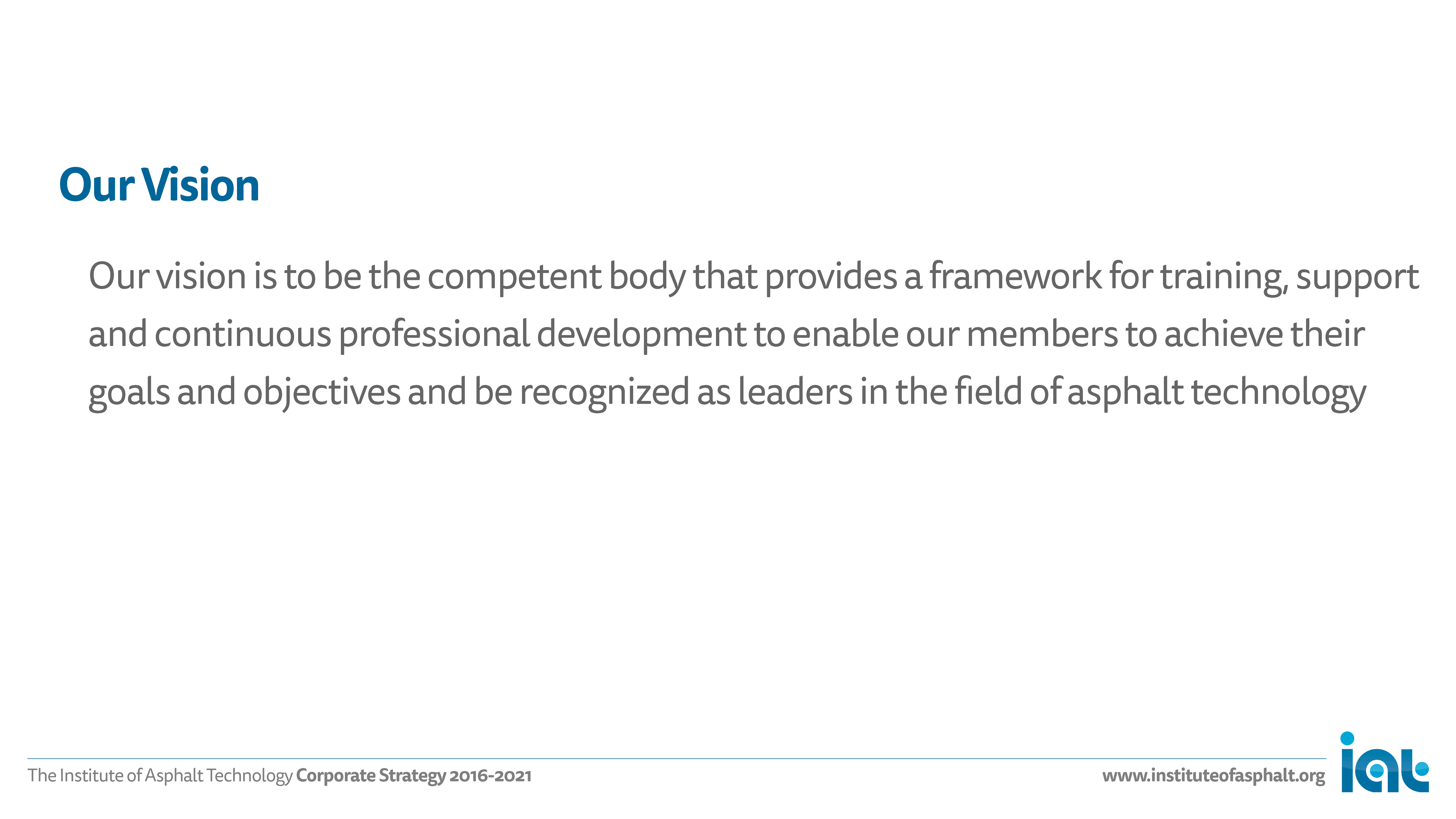 IAT Strategy, slide no. 3